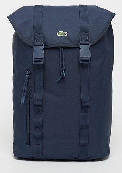 Lacoste Flap Backpack peacoat
