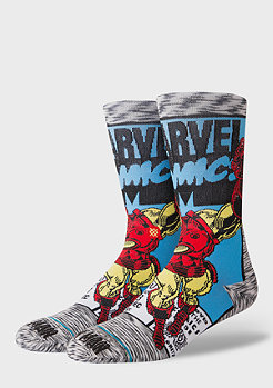 Stance Foundation Iron Man Comic grey