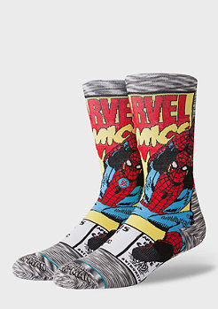 Stance Foundation Spiderman Comic grey
