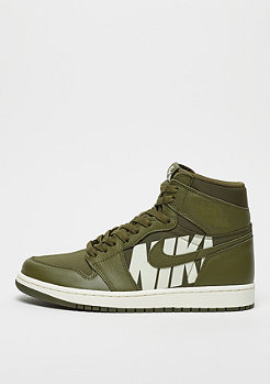 JORDAN Air Jordan 1 Retro High OG olive canvas/sail