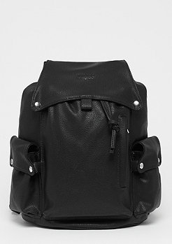 SNIPES Fake Leather Backpack black