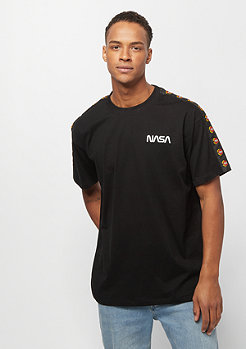 Mister Tee NASA Red Spaceship Tape Tee black