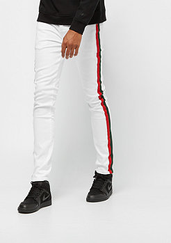 Sixth June Denim with Bands white/red/green