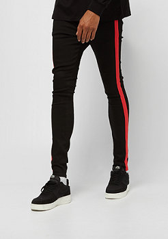 Sixth June DENIM WITH BANDS black/red