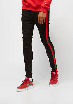 Sixth June Denim with Bands black/red/green