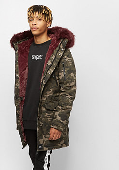 Sixth June Parka camouflage