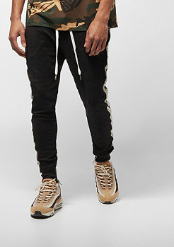 Sixth June SUEDE PANTS WITH BANDS black