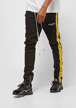 Sixth June JOGGER WITH PLAIN TAPES black/yellow