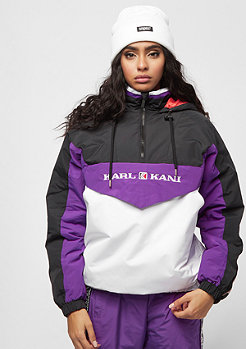 Karl Kani KK Tape Windbreaker black/purple/white