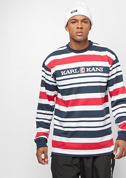 Karl Kani Stripes white/navy/red
