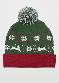 Urban Classics Christmas Beanie green/red