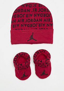 JORDAN Air Jordan AOP Hat and Bottie Combo gym red