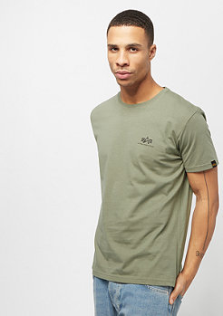 Alpha Industries Basic Small Logo olive