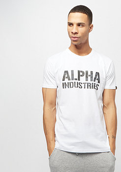 Alpha Industries Camo Print T white/black camo