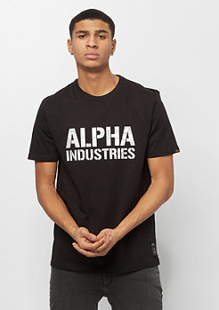Alpha Industries Camo Print T black/white camo