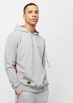 Alpha Industries RFB Inlay Hoody grey heather