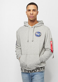 Alpha Industries Moon Landing Hoody grey heather