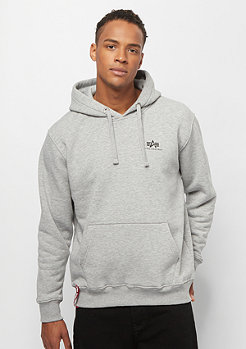 Alpha Industries Basic Hoody Small Logo grey heather