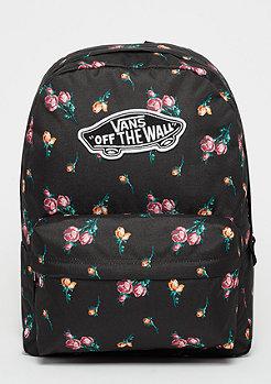 VANS Realm Backpack satin floral