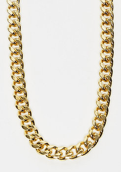 King Ice Miami Cuban Curb necklace 10mm Gold plated 76mm