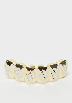 King Ice Diamond Cut Grillz Gold plated