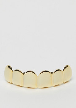 King Ice Plain Grillz Gold plated