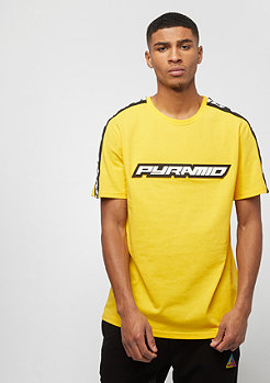 Black Pyramid PYRAMID TEE yellow