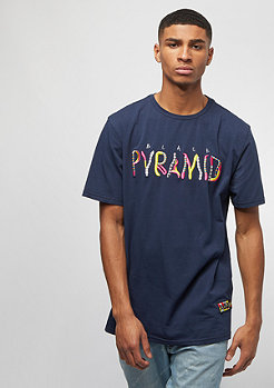 Black Pyramid WHIMSICAL TEE navy