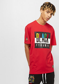 Black Pyramid BLACK PYRAMID TEE red