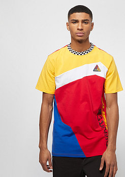 Black Pyramid PYRAMID COLORBLOCK TEE red