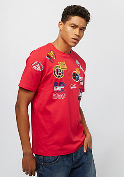 Black Pyramid FUTURE PATCH TEE red