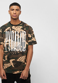 Black Pyramid CAMO PYRAMID TEE multicolor
