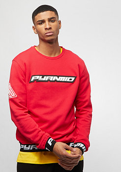 Black Pyramid PYRAMID SWEATSHIRT red