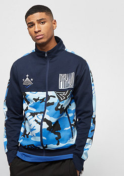 Black Pyramid CAMO PYRAMID TRACK JACKET blue