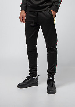 Criminal Damage Cuccio Track Jogger Wise black red