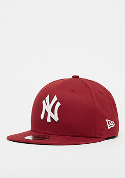 New Era 9Fifty MLB New York Yankees Essential hot red/optic white