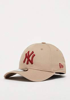 New Era 9Forty MLB New York Yankees Essential camel/hot red