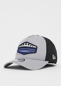 New Era 9Forty New Era Patch Trucker gray/black/blue azure