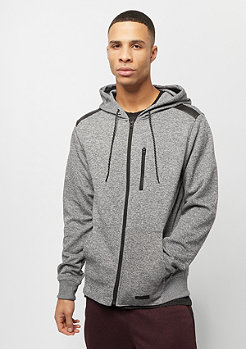 Southpole MARLED TECH FLEECE FULL ZIP HOODIE MARLED NAVY