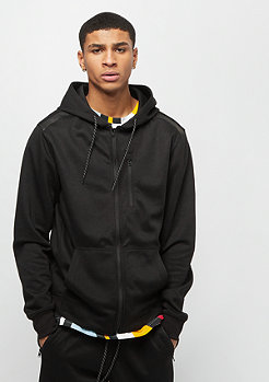 Southpole MARLED TECH FLEECE FULL ZIP HOODIE BLACK