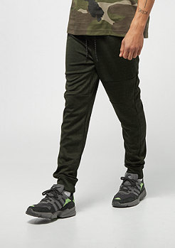 Southpole MARLED TECH FLEECE PANTS MARLED OLIVE