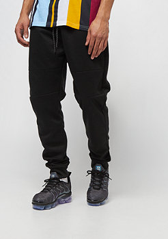 Southpole MARLED TECH FLEECE PANTS BLACK