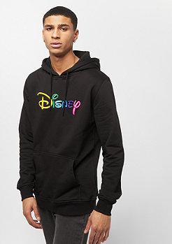 Mister Tee Disney Rainbow Logo EMB Hoody black