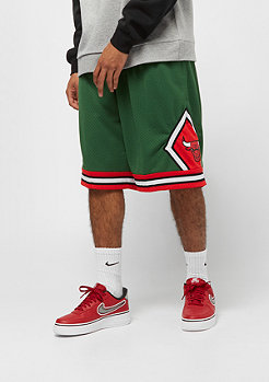 Mitchell & Ness NBA Swingman Shorts Chicago Bulls 2008 green