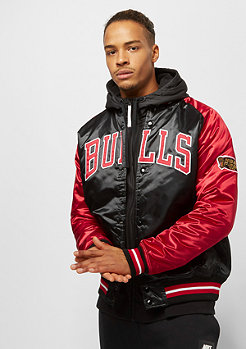 Mitchell & Ness NBA Tough Season Satin Chicago Bulls black/red
