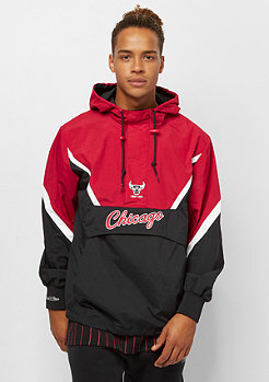 Mitchell & Ness NBA Half Zip Anorak Chicago Bulls black/red