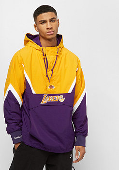 Mitchell & Ness NBA Half Zip Anorak LA Lakers purple/yellow