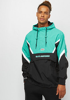 Mitchell & Ness Half Zip Anorak NBA San Antonio Spurs black/teal