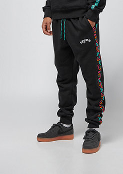 Mitchell & Ness Taped Fleece Jogger San Antonia Spurs black