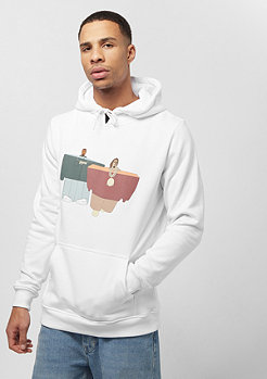 Mister Tee Love It Hoody white